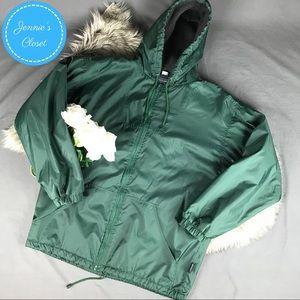 Fleece Lined Hooded Jacket Vintage Dash Classics